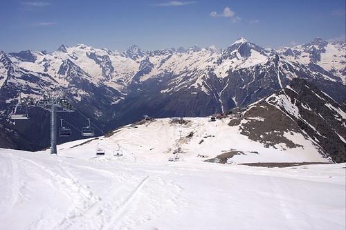 Поездка на горнолыжный курорт Домбай