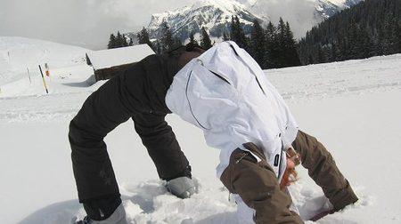 Упражнения - получаем навыки катания на горных лыжах