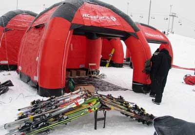 Тестирование и покупка лыж
