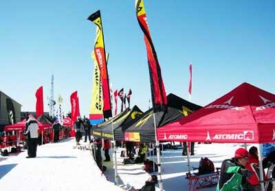 Тестирование лыж