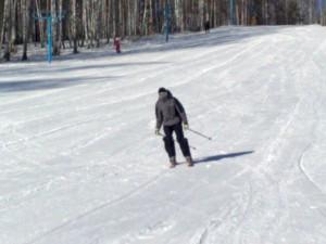 Первый год на горных лыжах
