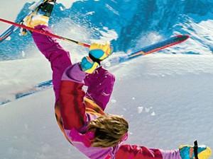 Первая помощь при катании на горных лыжах