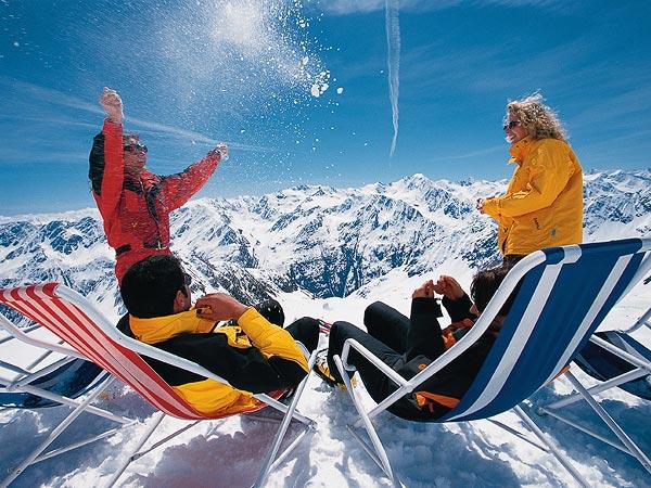 Горные лыжи европа на новый год