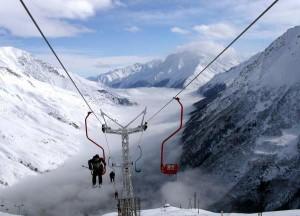 Гора Эльбрус, подъемники