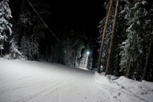 Трасса для сноуборда