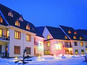 """Небольшой отель для горнолыжников на """"Красной поляне"""""""