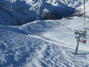 Горы и трассы на Кавказе
