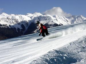 Катание на сноуборде в Краснодарском крае