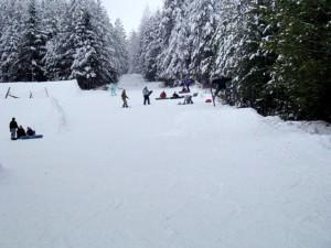 Зимний спорт возле Екатеринбурга