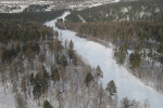 Вид с высоты на Алтайский край
