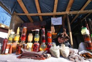 Местные деликатесы Грузии